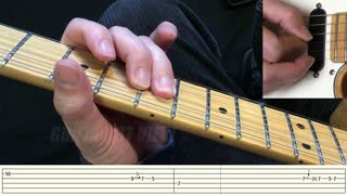 Slow Blues Guitar Lesson - With Tabs
