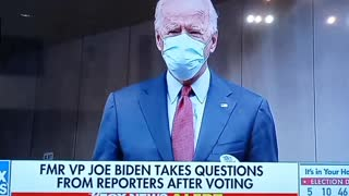 Biden Answers A question!!