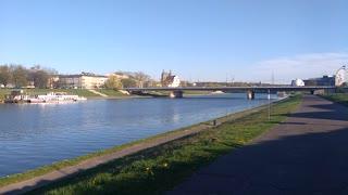 Vistula river Cracow