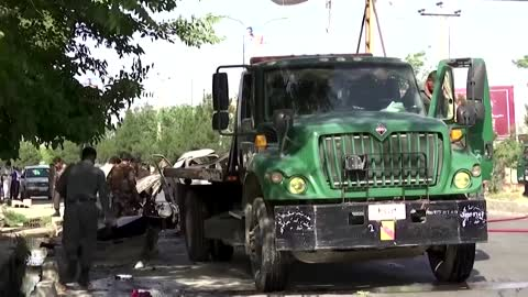 At least 7 dead after Kabul bus blasts