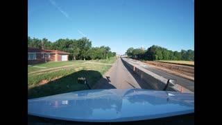 Driving through Carmen, Oklahoma
