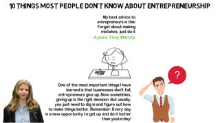 Ten Things Most People Don't Know About Entrepreneurship