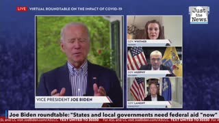 Biden says states and local governments need federal aid 'now'
