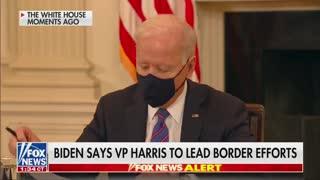 Biden Admits He Can't Handle Border Crisis - Taps Kamala Harris