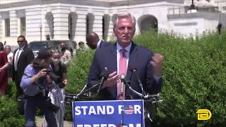 Kevin McCarthy Mocks Pelosi For Continued Mask Mandate In The House