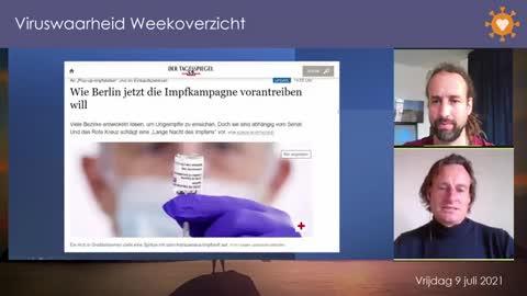 Viruswaarheid Weekoverzicht vrijdag 9 juli 2021