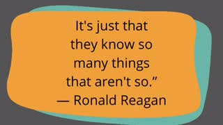 Ronald Reagan liberal quote