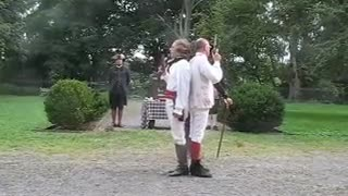 A duel 18c style