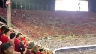 """College football fans chant """"F*ck Joe Biden"""" at Texas A&M"""