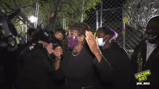 Maxine Waters Incites Violence At Minnesota Riot, Demands Chauvin Guilty Verdict (FULL Version)