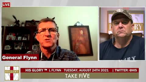 Take FiVe Morning August 24, 2021: Special Guest General Flynn
