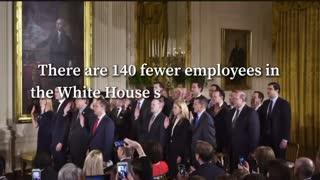 President Trump vs. The Obama Administration Expenses