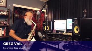Alto Sax- Alto Saxophone - Greg Vail live studio stream - The In Crowd