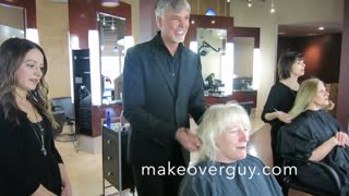 Long to Short Hair by Christopher Hopkins, the MAKEOVERGUY®