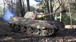 Radio-controlled Tiger tank