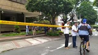 Protesta contra la red de ciclorruta en Bucaramanga