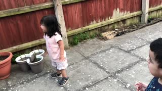 Cute Babies Playing