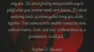 Relationship foundation 1