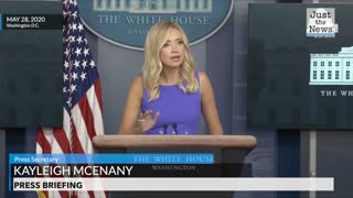 White House Press Secretary on mail-in balloting