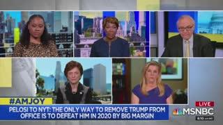 Joy Reid stokes fear Trump won't leave office