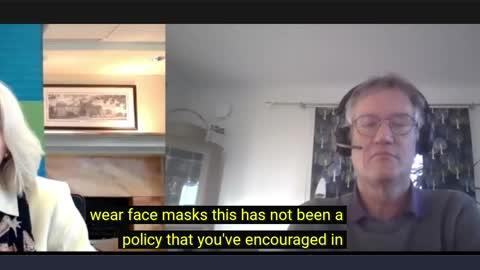 Dr. Anders Tegnell par sejas maskām