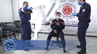 Así se preparan los bomberos contra el COVID-19