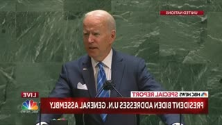 BREAKING NEWS-biden addresses 76th U.N. general assembly