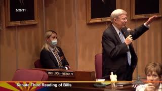 Senator Leach Supports #HB2190