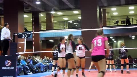 MLK Volleyball Tournament block