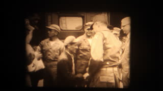 American POWS return from North Korean captivity - 1953