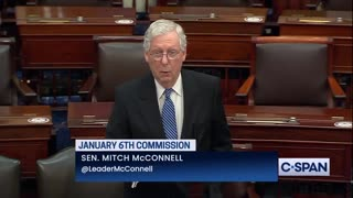 McConnell opposes 9/11 style January 6th commission