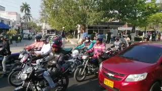 Protesta de mototaxis