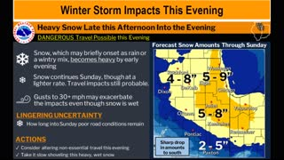 Winter Storm Warning & Travel Restrictions - Are You Ready?