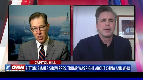Tom Fitton: Emails show President Trump was right about China, WHO