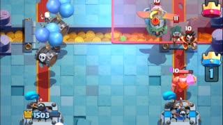 Clash Royale - Skeleton Barrel Gameplay