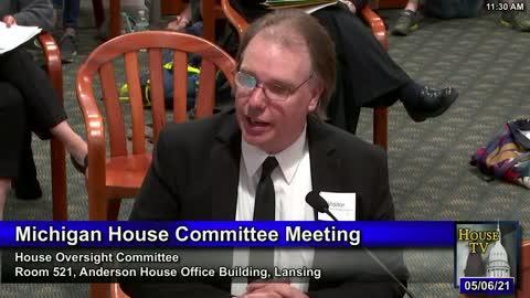 Michigan Oversight Committee Hearing On Vaccine Passports