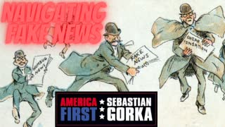 Navigating Fake News. Alex Marlow on AMERICA First with Sebastian Gorka