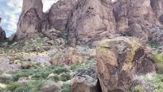 Superstition Mountains Views