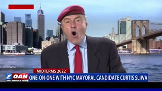 One-on-One with NYC Mayoral Candidate Curtis Sliwa Part 2