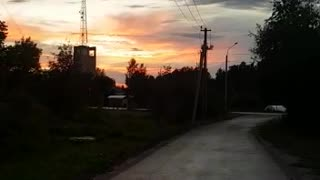 Beautiful evening and beautiful sky