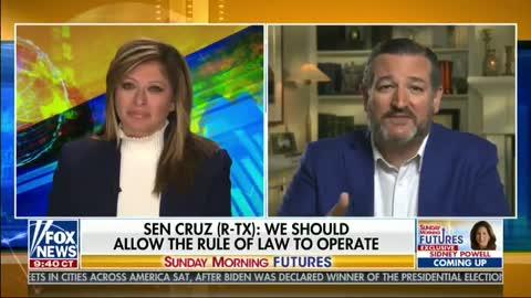 Sen Ted Cruz with Maria