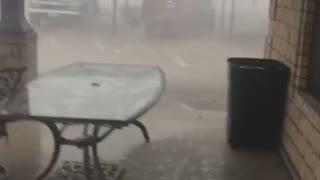 Storm Tears Through South Texas