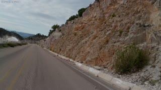 Riding towards Urique Mexico