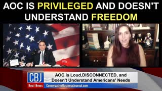 AOC is PRIVILEGED and Doesn't Understand Freedom!