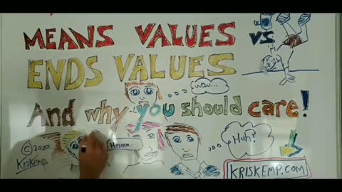 Means Values vs Ends Values - and why you should care (fast motion)