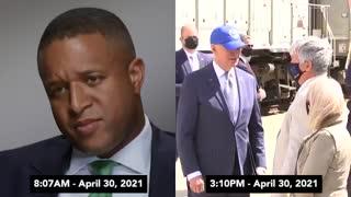 EXPOSED: Side By Side Video Dismantles Biden Mask Narrative