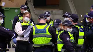Australia locks down public housing apartment buildings due to coronavirus