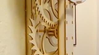 Paper Clock Model Unidecimus