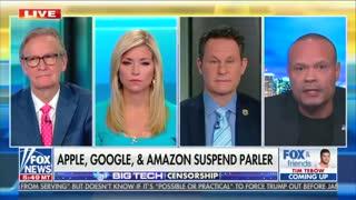 Big Tech Censorship: Parler Suspended
