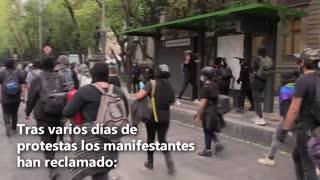 Disturbios en México contra violencia policial